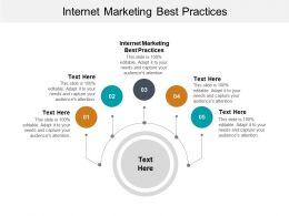 Internet Marketing Best Practices Ppt Powerpoint Presentation Infographic Template Infographics Cpb