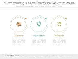 Internet Marketing Business Presentation Background Images