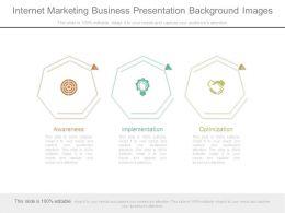 Internet Marketing Business Presentation Background Images