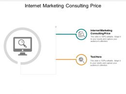 Internet Marketing Consulting Prices Ppt Powerpoint Presentation Inspiration Icon Cpb