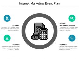 Internet Marketing Event Plan Ppt Powerpoint Presentation Ideas Information Cpb