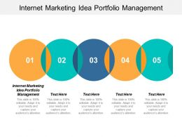 Internet Marketing Idea Portfolio Management Ppt Powerpoint Presentation Summary Design Ideas Cpb