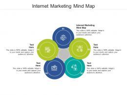 Internet Marketing Mind Map Ppt Powerpoint Presentation Ideas Vector Cpb