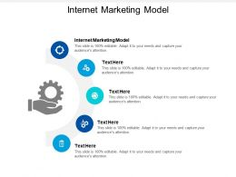 Internet Marketing Model Ppt Powerpoint Presentation Outline Examples Cpb