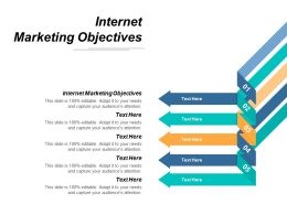 Internet Marketing Objectives Ppt Powerpoint Presentation Portfolio Sample Cpb