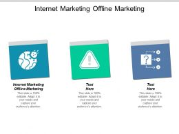 Internet Marketing Offline Marketing Ppt Powerpoint Presentation Ideas Vector Cpb
