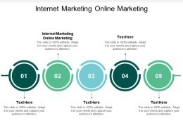 Internet Marketing Online Marketing Ppt Powerpoint Presentation File Templates Cpb