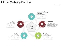 Internet Marketing Planning Ppt Powerpoint Presentation File Mockup Cpb