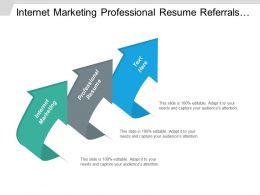 Internet Marketing Professional Resume Referrals Marketing Sales Presentation Cpb