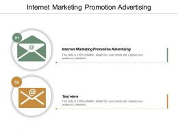 Internet Marketing Promotion Advertising Ppt Powerpoint Presentation File Outfit Cpb