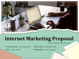 Internet Marketing Proposal Powerpoint Presentation Slides