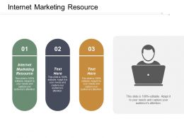 Internet Marketing Resource Ppt Powerpoint Presentation Infographic Template Show Cpb