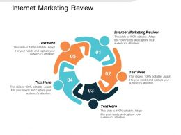 Internet Marketing Review Ppt Powerpoint Presentation Gallery Mockup Cpb
