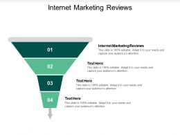 Internet Marketing Reviews Ppt Powerpoint Presentation Infographics Vector Cpb