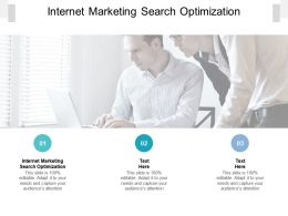 Internet Marketing Search Optimization Ppt Powerpoint Presentation Summary Design Inspiration Cpb