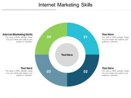 Internet Marketing Skills Ppt Powerpoint Presentation Summary Introduction Cpb