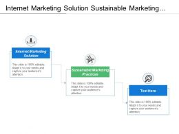 Internet Marketing Solution Sustainable Marketing Practices E Commerce Business