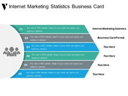 Internet Marketing Statistics Business Card Format Direct Marketing Cpb