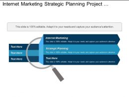 Internet Marketing Strategic Planning Project Management Change Management Cpb