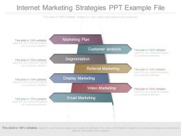 Internet Marketing Strategies Ppt Example File
