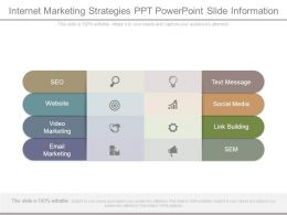 Internet Marketing Strategies Ppt Powerpoint Slide Information