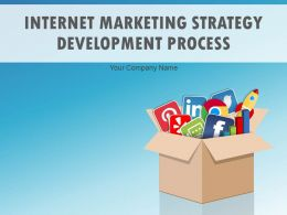 Internet Marketing Strategy Development Process Powerpoint Presentation Slides