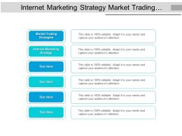 Internet Marketing Strategy Market Trading Strategies Event Planning Cpb