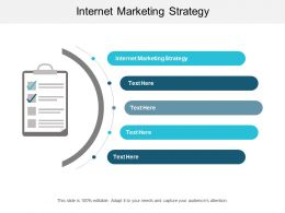 Internet Marketing Strategy Ppt Powerpoint Presentation File Vector Cpb