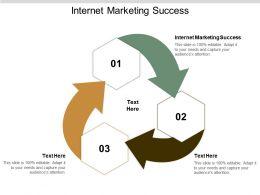 Internet Marketing Success Ppt Powerpoint Presentation Gallery Templates Cpb