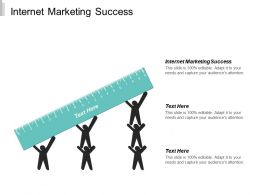 Internet Marketing Success Ppt Powerpoint Presentation Infographic Template Aids Cpb