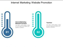 Internet Marketing Website Promotion Ppt Powerpoint Presentation Styles Inspiration Cpb