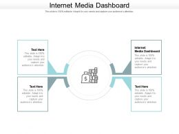 Internet Media Dashboard Ppt Powerpoint Presentation Visual Aids Summary Cpb