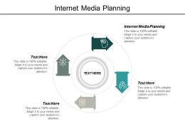 Internet Media Planning Ppt Powerpoint Presentation Model Introduction Cpb