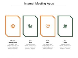Internet Meeting Apps Ppt Powerpoint Presentation Ideas Objects Cpb