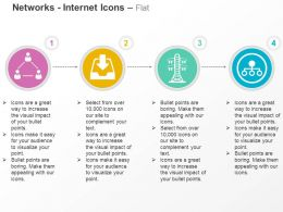 Internet Network Download Power Lines Hierarchy Ppt Icons Graphics