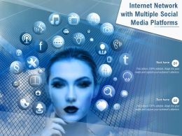 Internet Network With Multiple Social Media Platforms