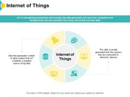 Internet Of Things Gears Server Ppt Powerpoint Presentation Inspiration Gallery
