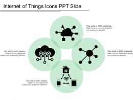 Internet Of Things Icons Ppt Slide