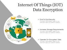 Internet Of Things Iot Data Encryption Ppt Example File
