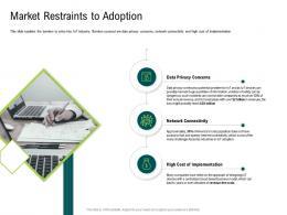 Internet Of Things Market Analysis Market Restraints To Adoption Ppt Microsoft