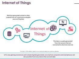 Internet Of Things Ppt Ideas Icons