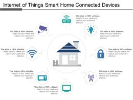 Internet Of Things Smart Home Connected Device