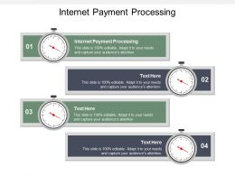 Internet Payment Processing Ppt Powerpoint Presentation Gallery Elements Cpb