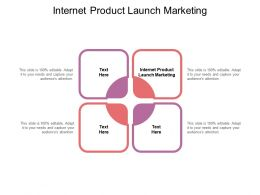 Internet Product Launch Marketing Ppt Powerpoint Presentation Templates Cpb