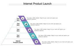 Internet Product Launch Ppt Powerpoint Presentation Portfolio Visuals Cpb