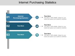 Internet Purchasing Statistics Ppt Powerpoint Presentation Gallery Brochure Cpb