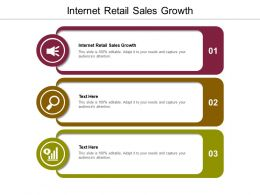 Internet Retail Sales Growth Ppt Powerpoint Presentation Layouts Aids Cpb