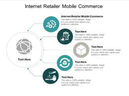 Internet Retailer Mobile Commerce Ppt Powerpoint Presentation File Skills Cpb