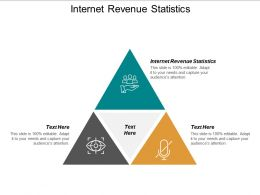 Internet Revenue Statistics Ppt Powerpoint Presentation Diagrams Cpb