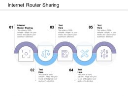 Internet Router Sharing Ppt Powerpoint Presentation Inspiration Graphics Example Cpb